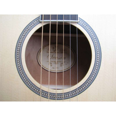 Season思雅晨41寸吉它吉他缺角木套装民谣英伦圆头马丁靴女图片