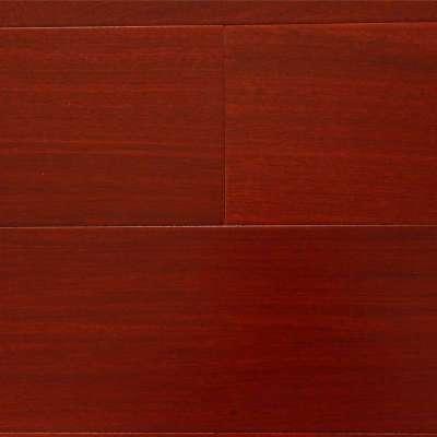 贝尔地板 实木多层木地板 15mm 地热地板 哑光面 红檀