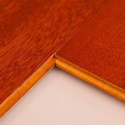 贝尔地板 多层实木复合地板15mm 深色环保地暖经典锁扣 印尼冰糖果