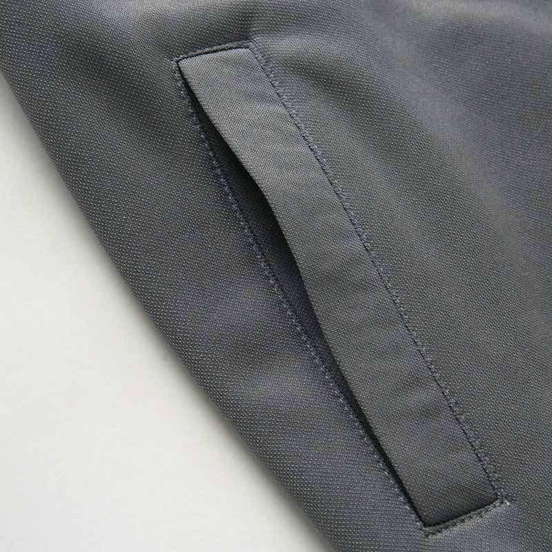 欧榜男装时尚加绒立领开衫卫衣33039 灰色 xxl