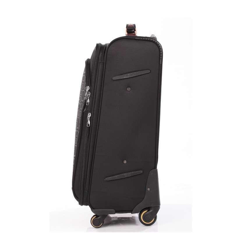 航空箱万向轮拉杆箱行李箱10075#24寸黑色