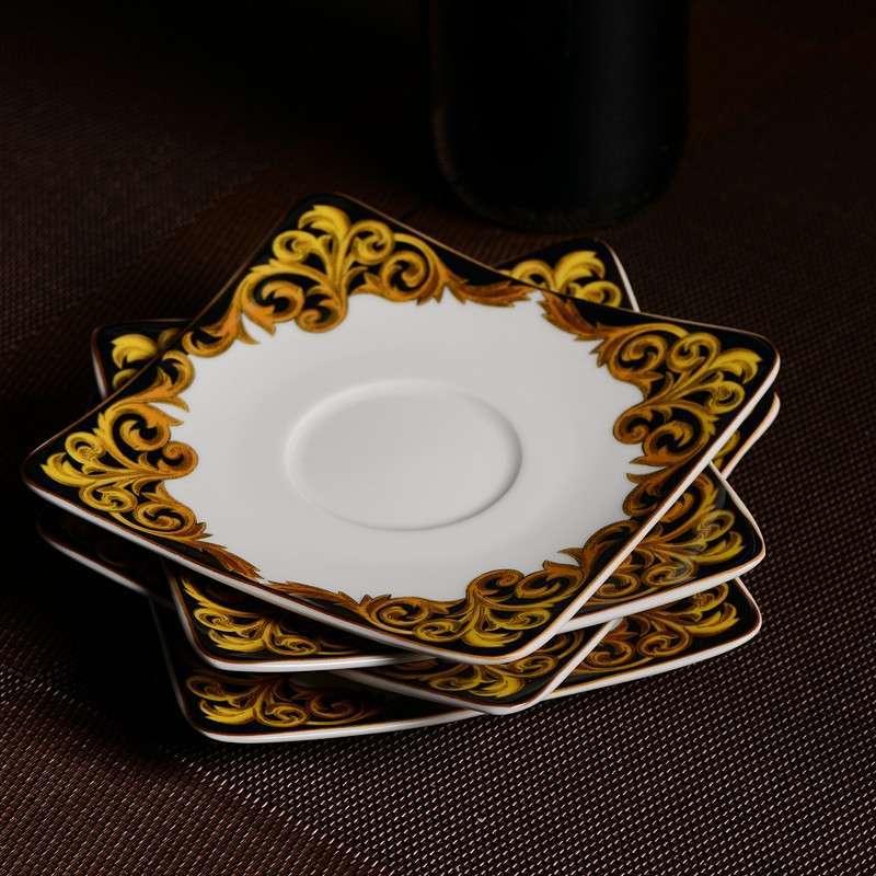 精品餐具出口级38头餐具套装欧式结婚送礼特色创意礼