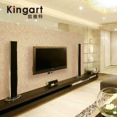 凯雅特壁纸无纺布墙纸客厅卧室电视背景墙欧式满铺