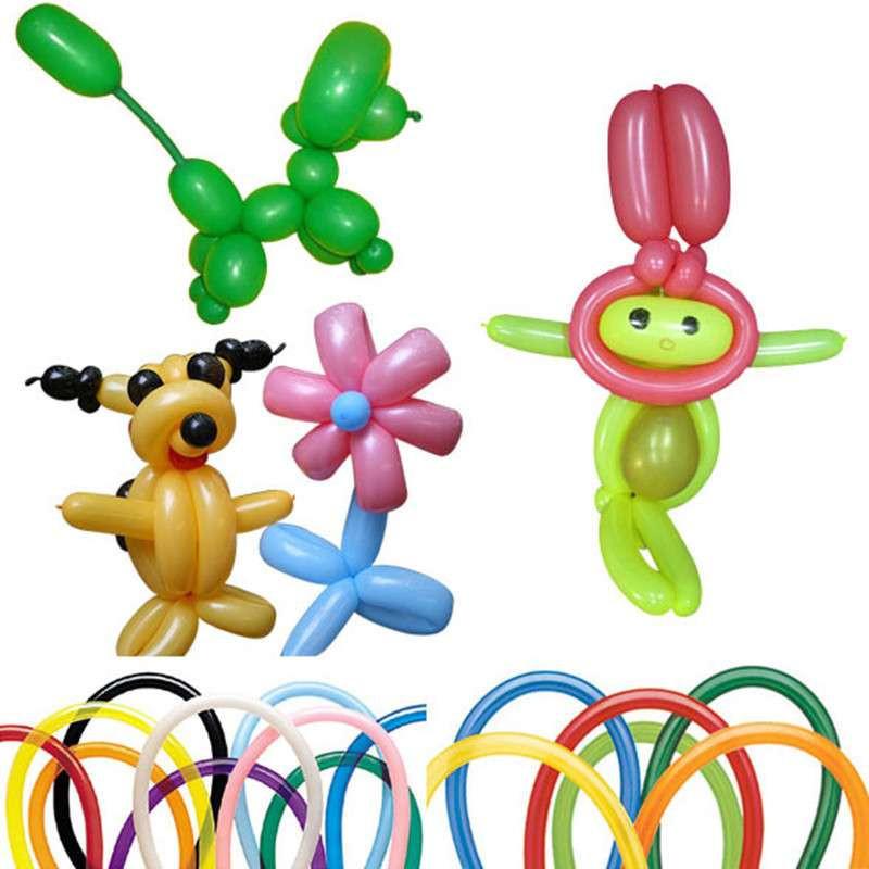 大贸商(dms)魔术气球 长条气球 百变造型气球 长条70个-ef00884图片
