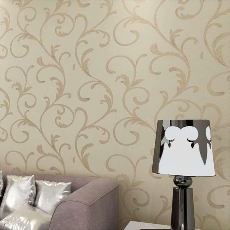 欧式无纺布墙纸 进口烫金大卷ve电视客厅卧室壁纸7