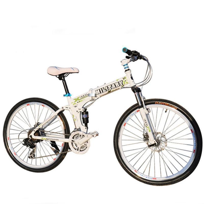 【耐嘛自行车】耐嘛@悍马折叠山地自行车