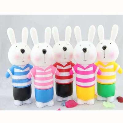 创意可爱大号小兔卡通存钱罐零钱储蓄罐储钱罐儿童