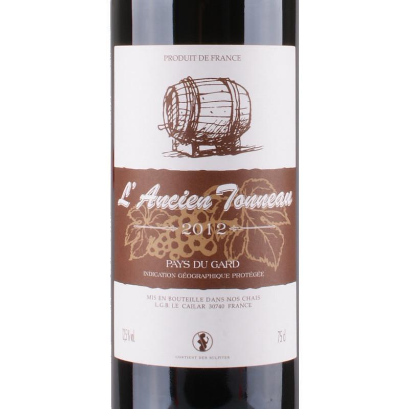 老木桶 法国进口干红葡萄酒750ml