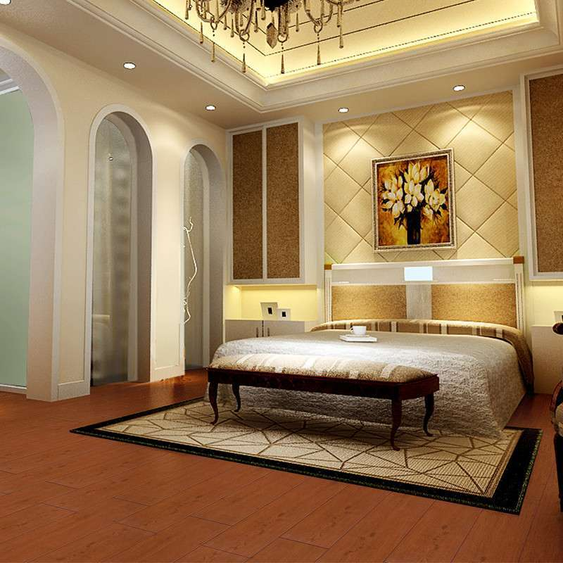 高恩 木纹砖m206 佛山仿木纹地板砖客厅 仿古釉面砖地砖 200x1000木纹