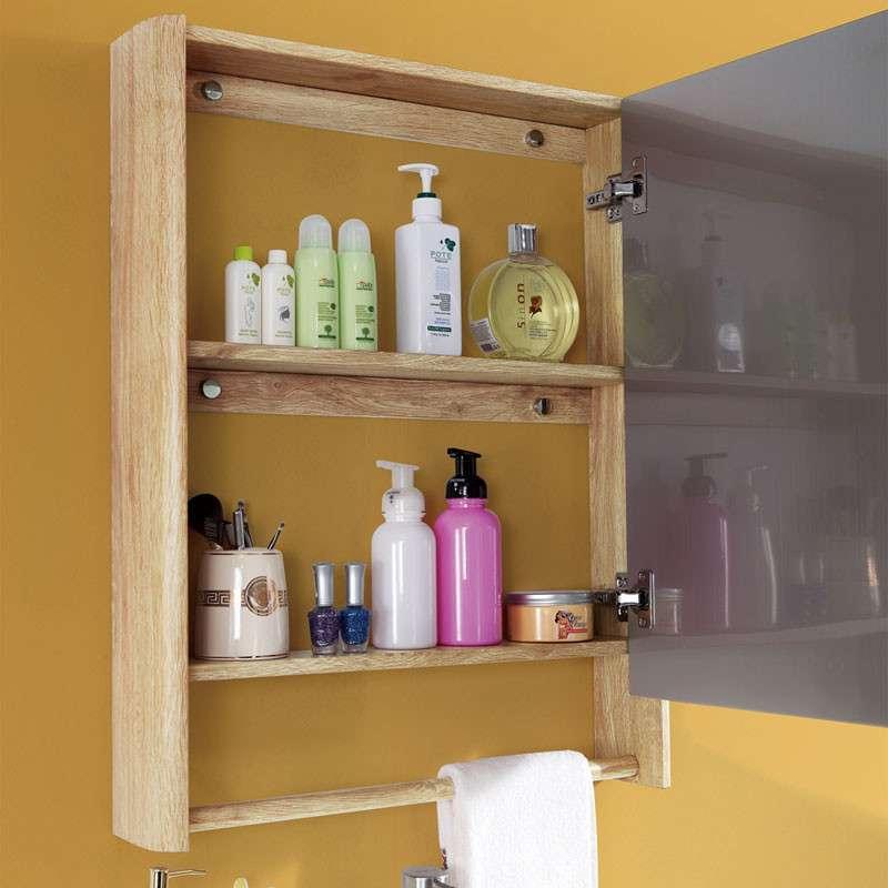 304不锈钢实木纹欧式浴室柜yg08白橡木+黄