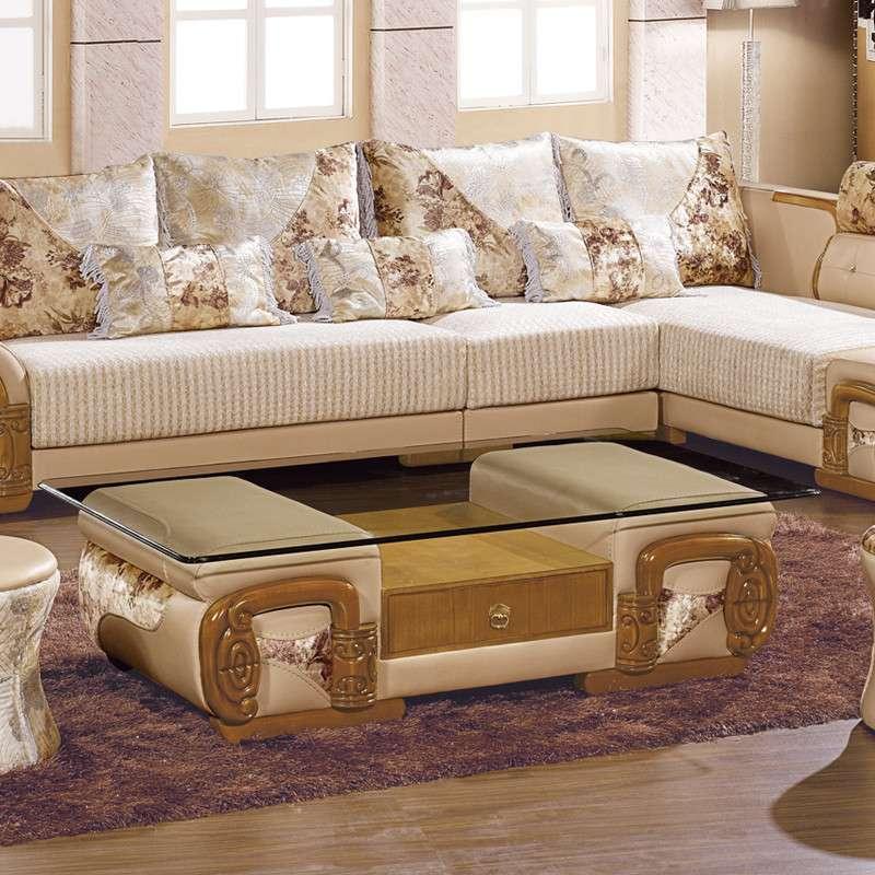 可拆洗布艺沙发组合