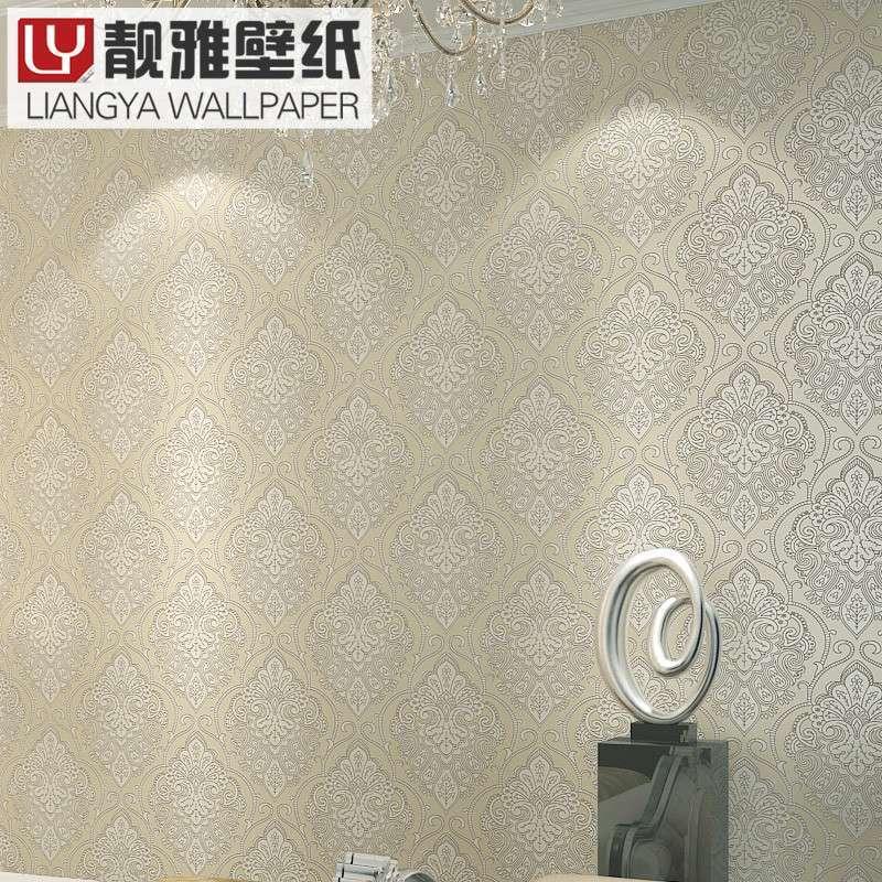 欧式简约式墙纸贴图
