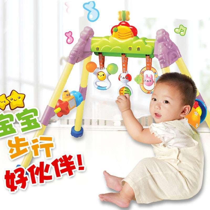 【奥鸿玩具】正品澳贝健身架463302奥贝婴儿带音乐0