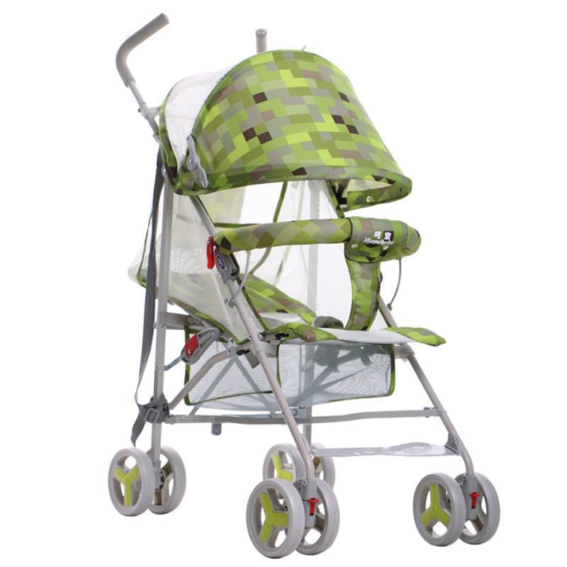 可平躺童车折叠婴儿车推车
