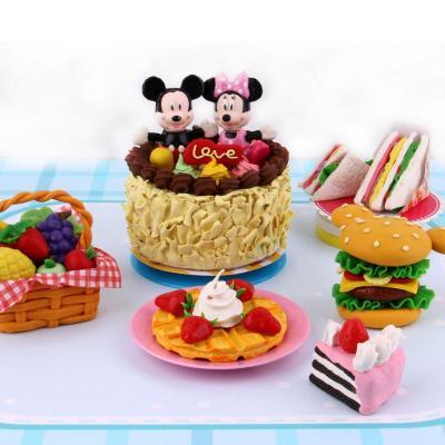 迪士尼蛋糕彩泥橡皮泥