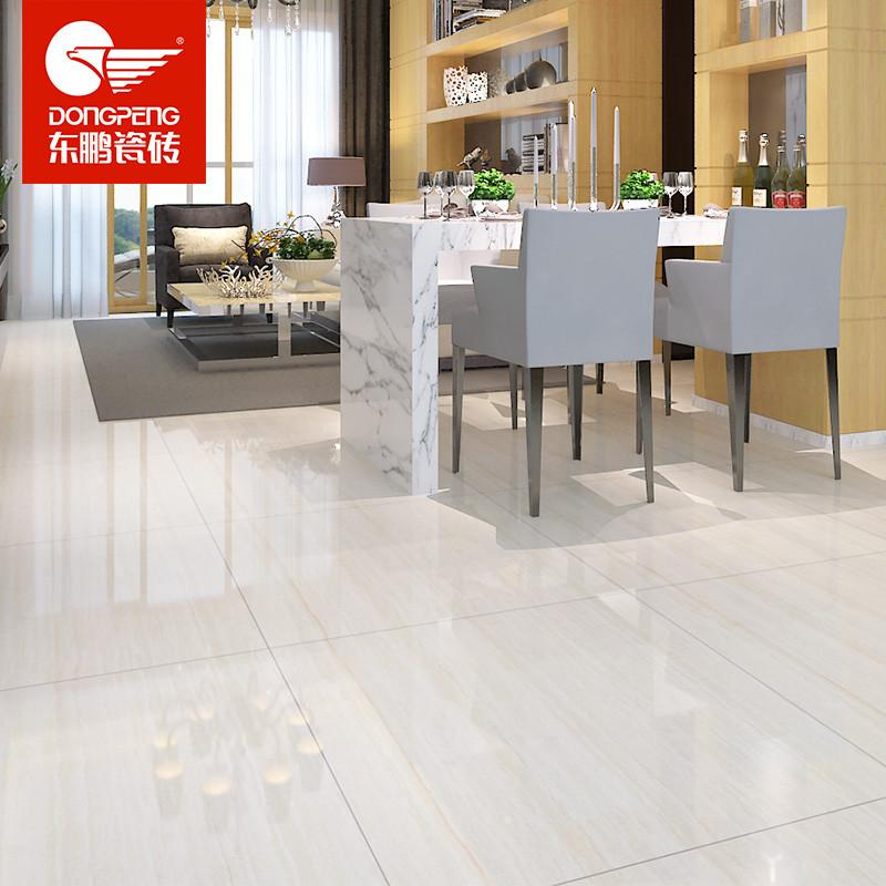 东鹏瓷砖 地砖800x800地板砖客厅防滑玻化砖木纹瓷砖