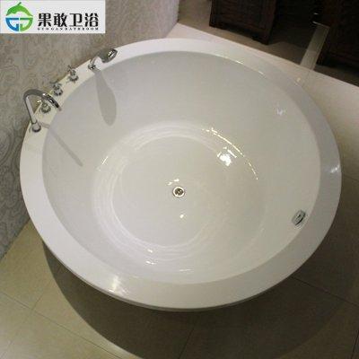 【果敢】嵌入式亚克力浴缸欧式椭圆形家装贵妃出口