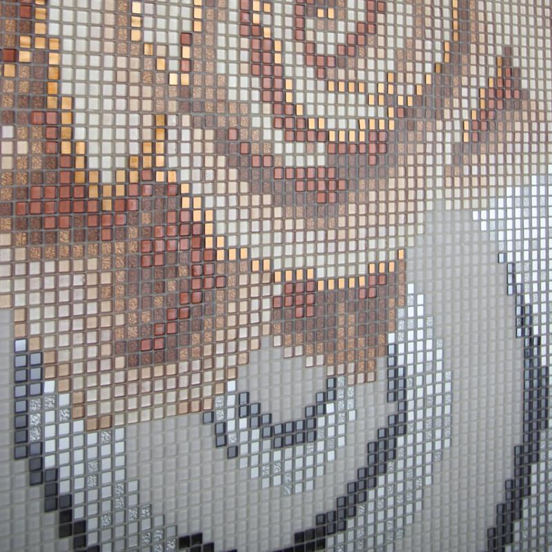 【siis赛莱雅】赛莱雅欧式水晶玻璃艺术镜面马赛克墙