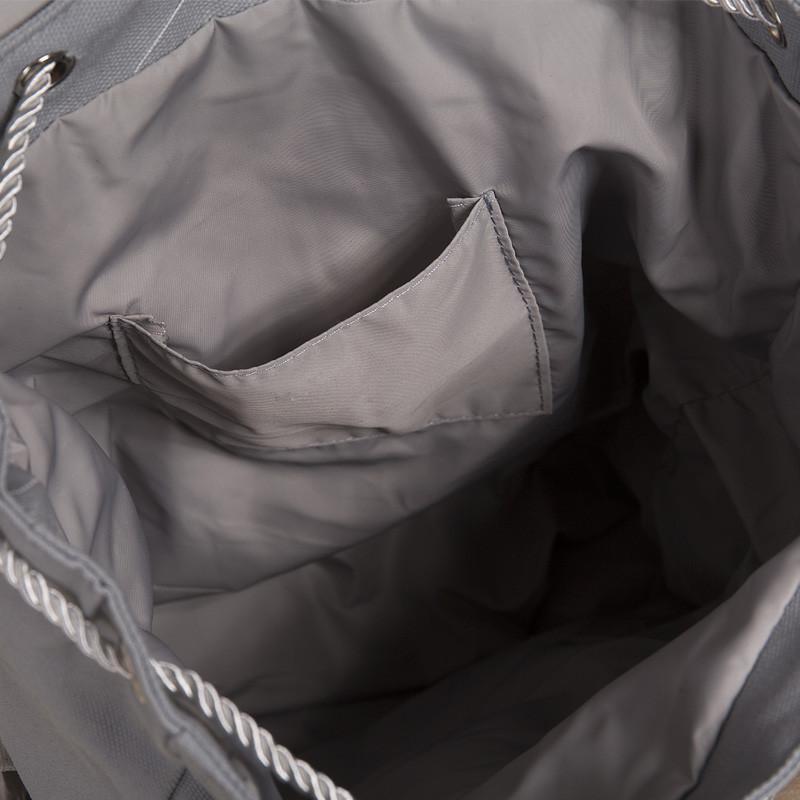 剪痕剪痕秋季开学新款书包埃菲尔铁塔图案帆布双肩包