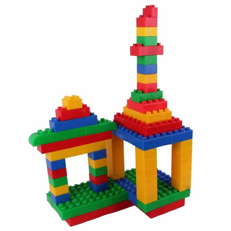 京奇乐高式方块积木 塑料拼插玩具 儿童拼装 宝宝益智