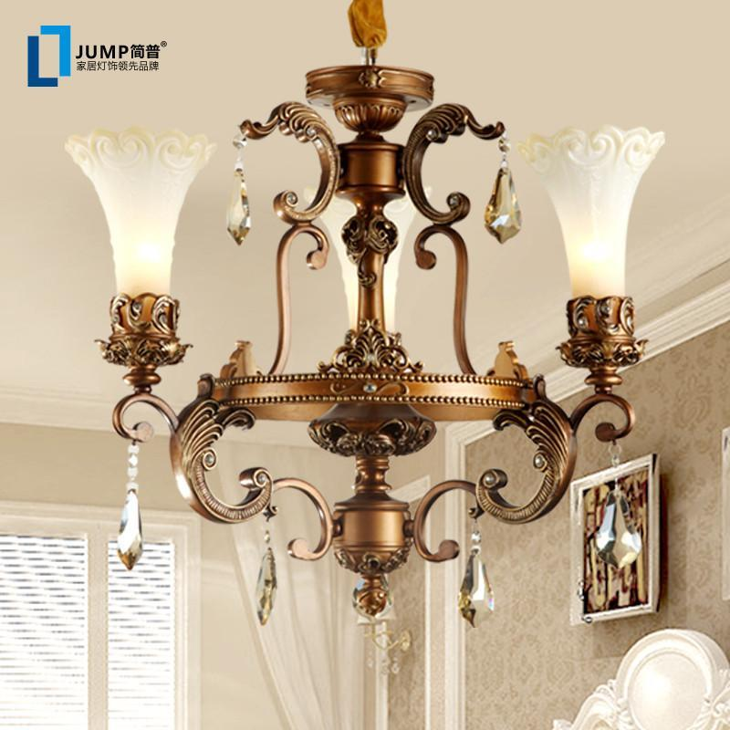【简普】简普家居家装灯具吊灯欧式复古吊灯客厅欧式
