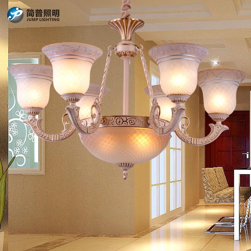 简普欧式家居家装灯具吊灯简约欧式吊灯现代欧客厅le