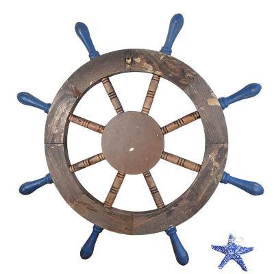 船舵的手工制作