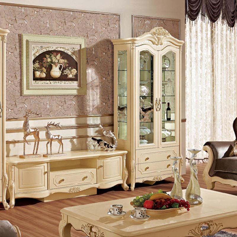 【法丽莎家居】法丽莎家具g9欧式电视柜组合厅柜欧式