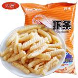 四洲 燒烤味蝦條 80g零食 小吃 特產 休閑零食小吃 膨化食品 202225