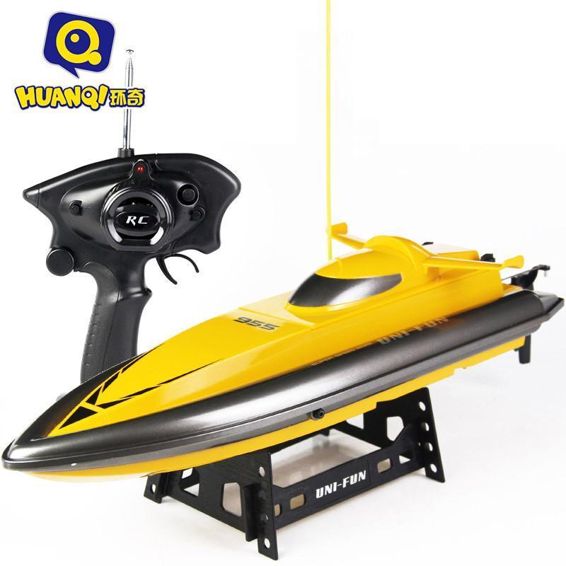 环奇955 遥控船高速快艇超大儿童电动玩具船航模轮船