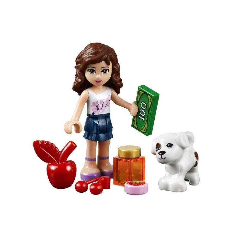 lego 乐高 friends 好朋友系列 女孩系列 41026 金色丰收蔬果店 乐高