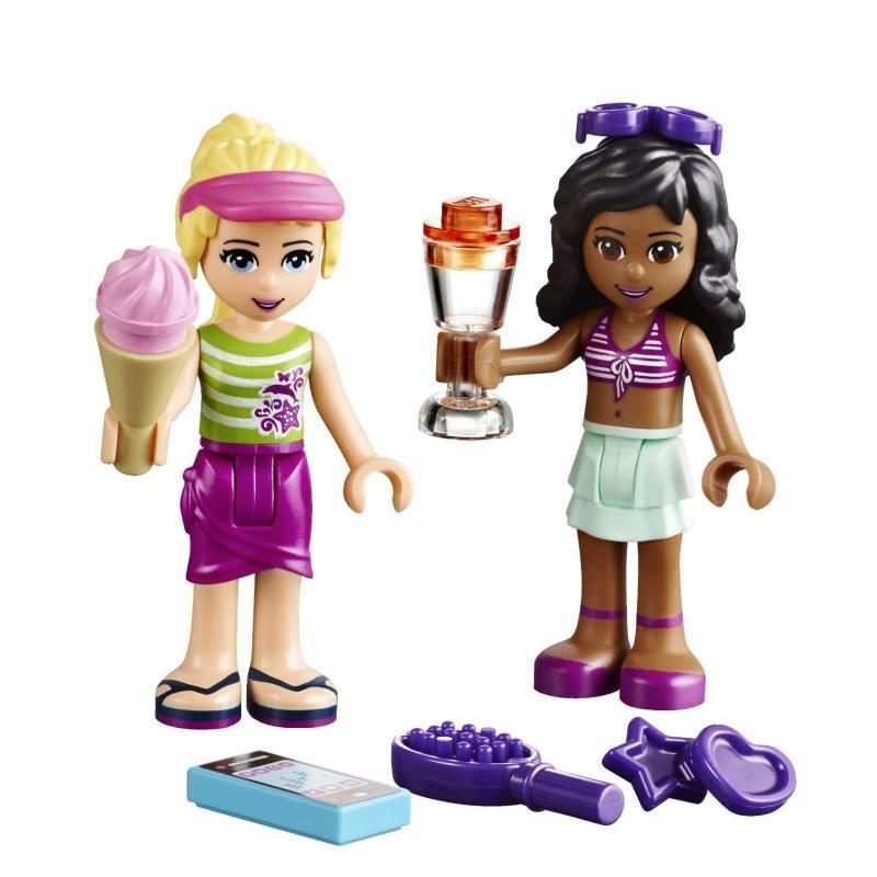 lego 乐高 friends 好朋友系列 女孩系列 41037 斯蒂芬妮的沙滩小屋