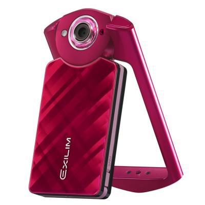 卡西欧(CASIO) 数码相机 EX-TR500 红色(单机版)