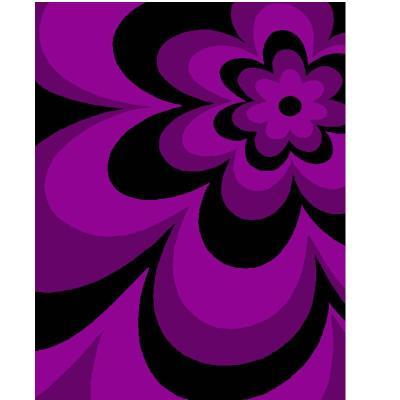 【华德地毯华德地毯】华德紫色梦幻雕花地毯wkmg303