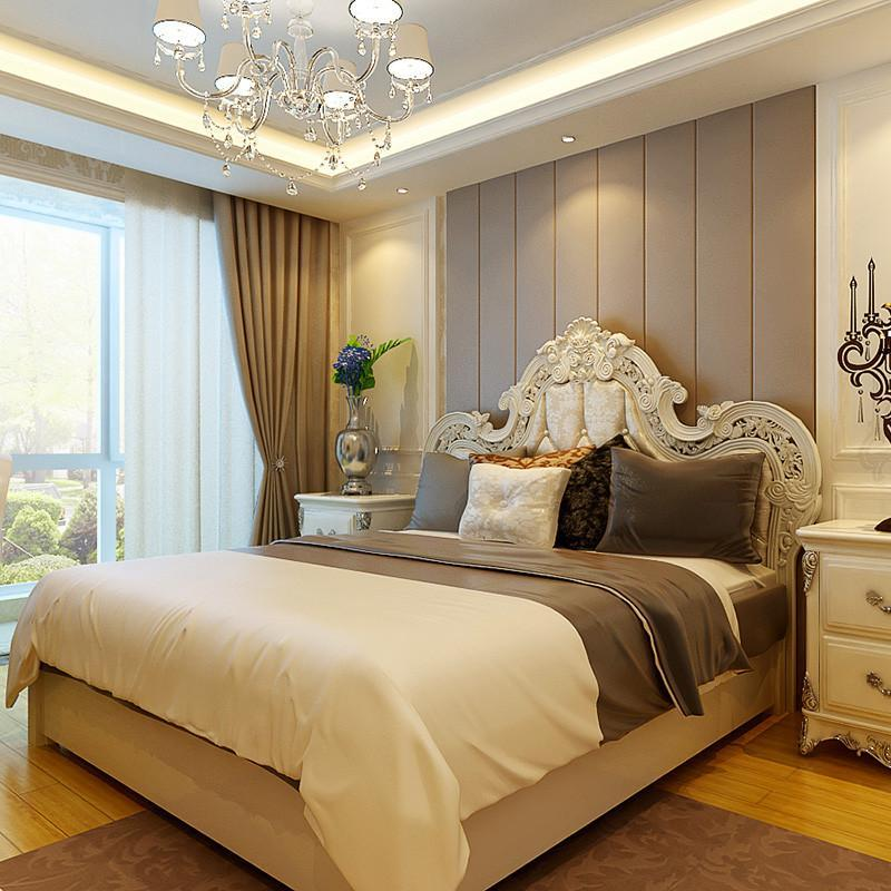 欧式公主床房间装饰图片