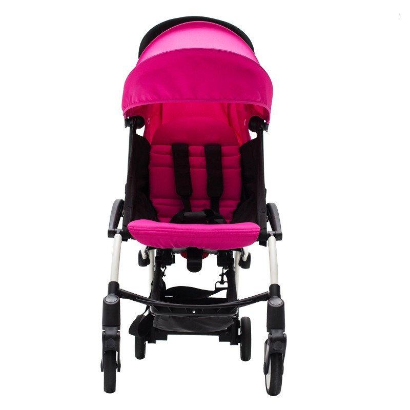 chbaby轻便避震折叠可携带上飞机婴儿推车伞车a787a 运动玫红色