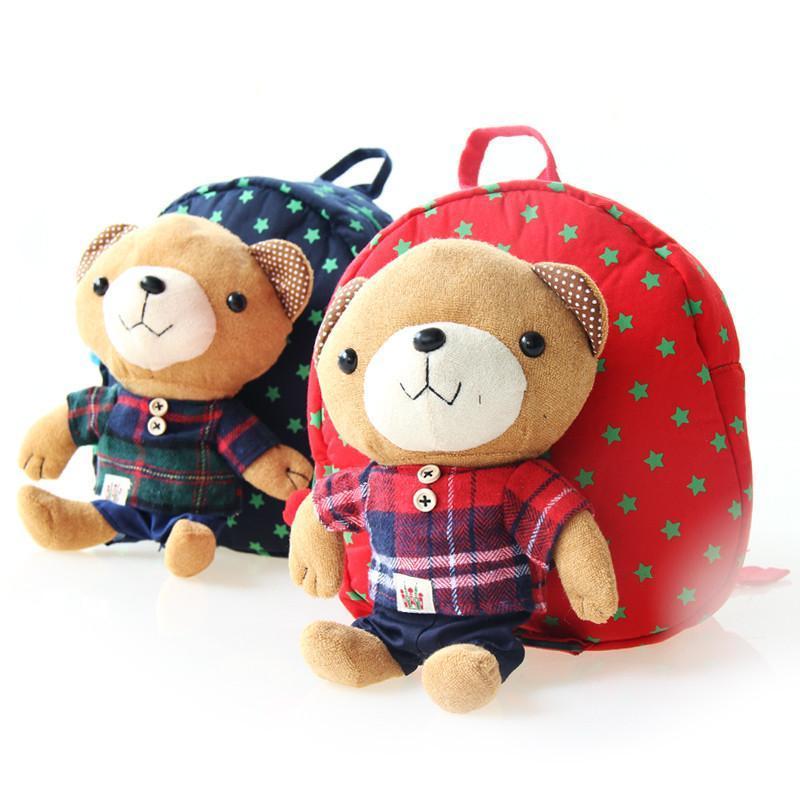 意婴堡 韩版可爱卡通书包 儿童走步包幼儿防走失双肩背包 a款粉红色