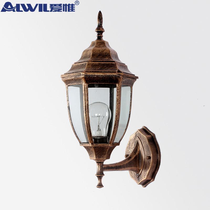 壁灯简约欧式铝合金庭院