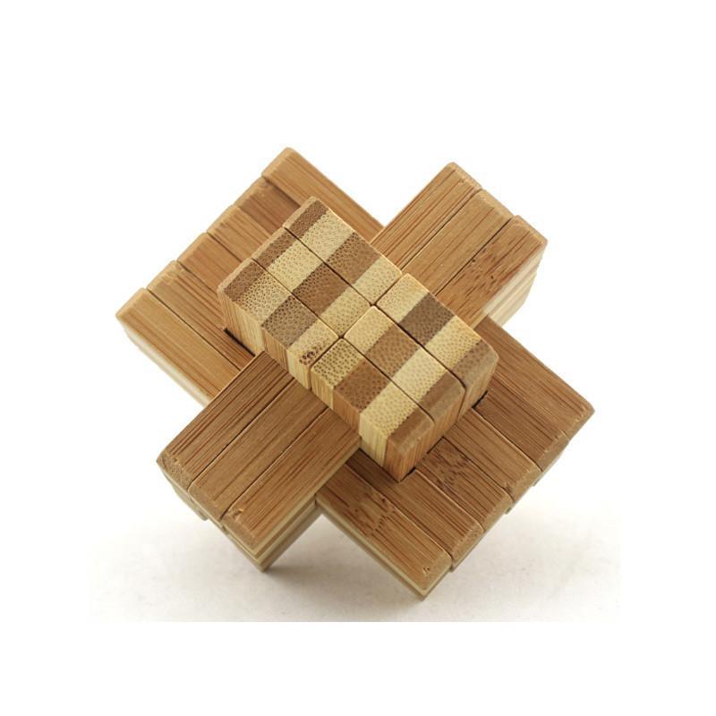 儿童木制孔明锁鲁班锁套装