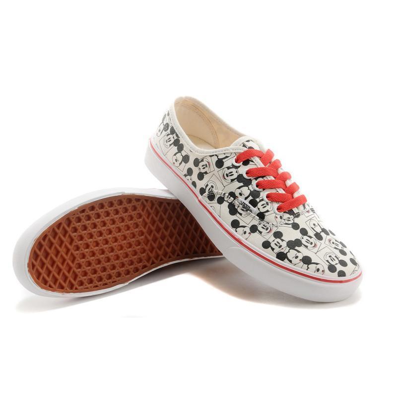 vans/万斯 男女板鞋 可爱卡通休闲鞋 低帮男生女鞋运动帆布鞋 米老鼠