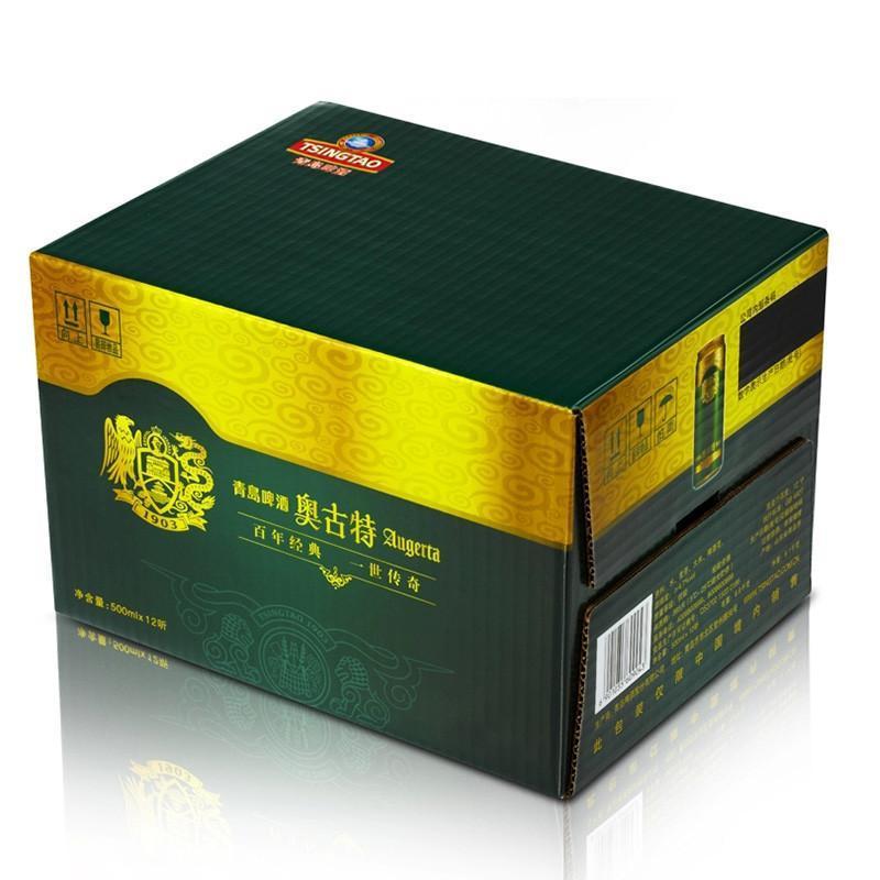 青岛啤酒奥古特500ml*12听*2箱 24听特惠半价限时购