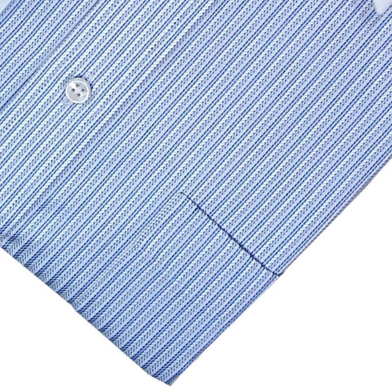 蓝色条状衬衫布料贴图素材