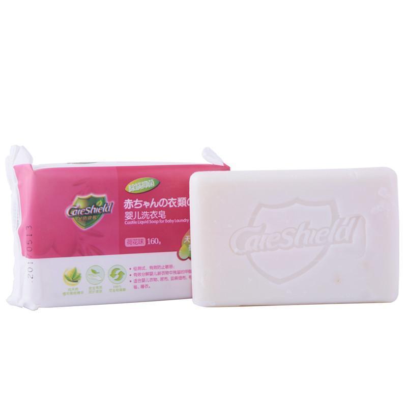 金盾康馨宝宝洗衣皂3块荷花3块桂花婴儿儿童肥皂香皂用品