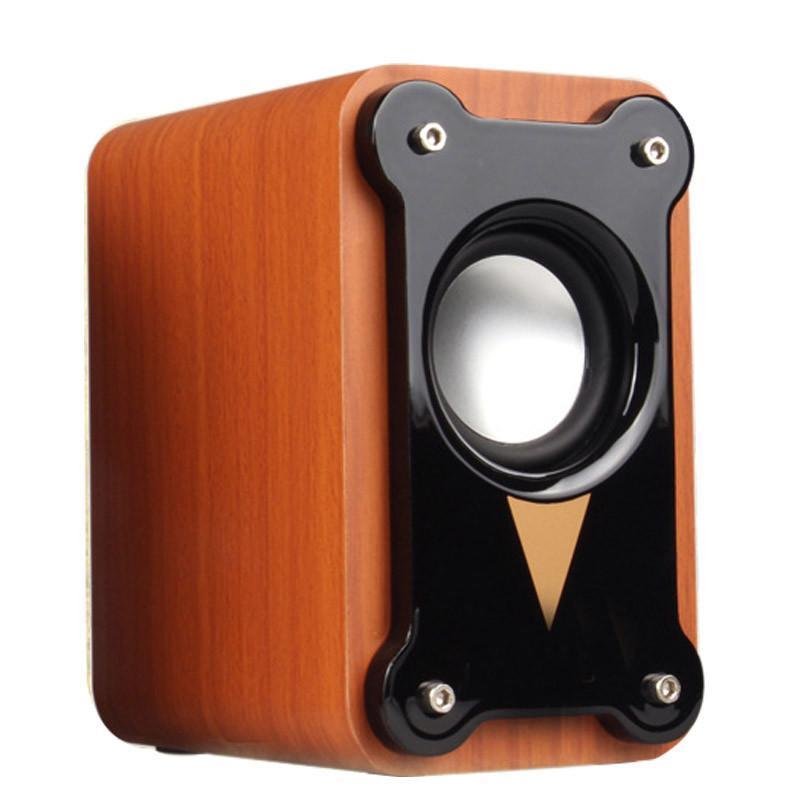 托瓦(tamo) 白绿双色木质小音箱 usb接口音响 电脑音箱 书房多媒体usb