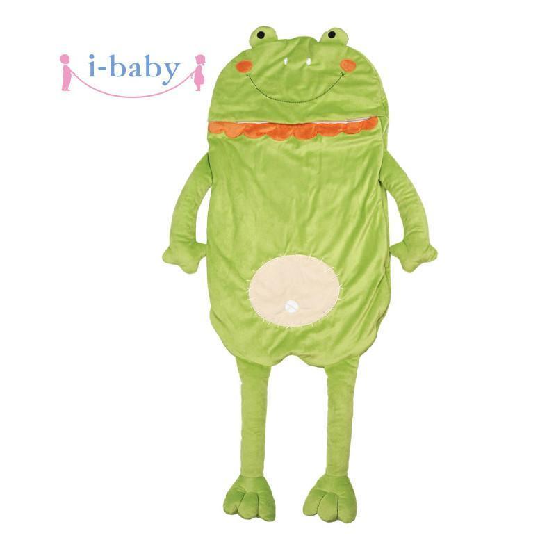 i-baby 宝宝绒儿童卡通可爱睡袋 黄色 42*110