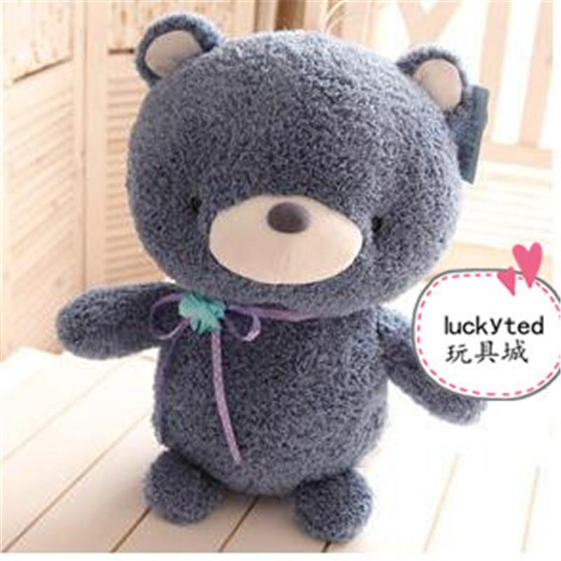 可爱小兔子情侣泰迪熊毛绒玩具公仔