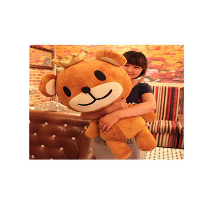 情人节皇冠熊玩具 熊宝宝玩偶娃娃可爱王子熊公仔抱抱熊生日礼物 皇冠图片