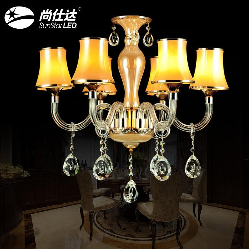 吊灯水晶灯蜡烛灯欧式吊灯led吸顶