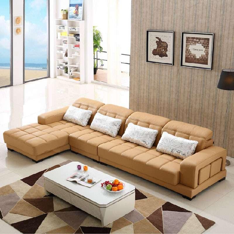 l型沙发户型手绘图