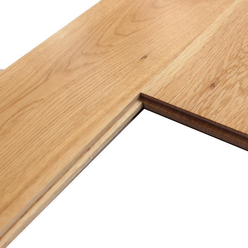 财到官邸纯实木地板 原木本色 橡木(栎木)优等品
